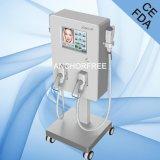 Système de soins de la peau de radiofréquence pour la peau serrant le ce de levage de face
