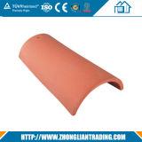 Azulejo de azotea plástico de cerámica plano del material de construcción del azulejo de azotea