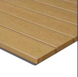 Handelsgüte-im Freien Plastikbauholz-Tisch-Oberseite (PWT-103)