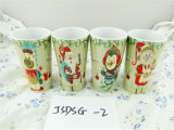 Caneca relativa à promoção da porcelana do Natal com preço barato