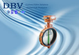 Worm Gear Soft Seal Wafer Butterfly Valve