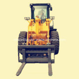 5t Heavy Construction Front Wheel Loader 중국제