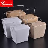 Envase manejado disponible de empaquetado de papel de la impresión