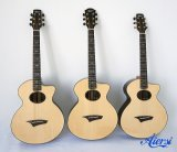 Aiersi 도매 주문품 모든 단단한 주된 음향 기타 (SG03ARNS)