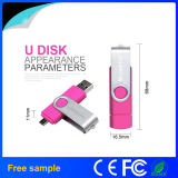 Atacado Bulk USB 2.0 Swivel OTG USB Flash Disk
