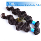 Toute la longueur dans la trame brésilienne de cheveux de Vierge courante (KBL-BH-BW)