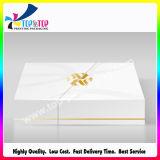 Rectángulo de regalo hecho a mano de sellado caliente de lujo de la diapositiva para la pequeña vela