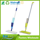 Eco-Friendly Colorful Easy Spray Mop com roupas de microfibra