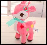 Stuk speelgoed van de Pluche van de Marionet van het Huisdier van het Bont van het paard het Zachte Gevulde Dierlijke voor Kinderen