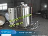 Capacidade refrigerando de refrigeração do tanque 1000liter do leite vertical