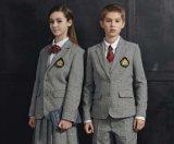学校の服装の/Schoolの衣服か学校の衣類