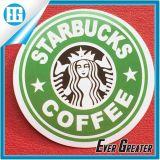 Fabbricazione in serie dell'autoadesivo di abitudine del contrassegno del documento di marchio di Starbucks