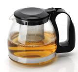 700/1250/1500ml Cheap Glass Teapot с нержавеющей сталью/Plastic Filter