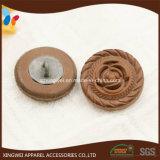 Bouton de partie lisse de cuir de configuration de Rose de presse de la chaleur