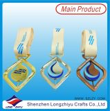 2016 China Custom Donut Shape Medalha Olímpica de Metal com Fita