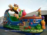 Barca gonfiabile del pirata di vendita calda, barca di salto dell'ape, Bouncer di salto