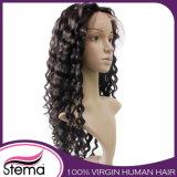 Большинств парик шнурка популярных человеческих волос девственницы бразильских полный