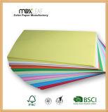 papel de cópia colorido sem revestimento da escrita do papel Offset de 80GSM A4