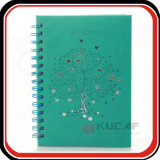 Custom Leather Spiral Leather Notebook Planner Journal des filles