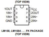 Circuito integrato Texas Instruments dell'amplificatore operativo CI Lm258dr
