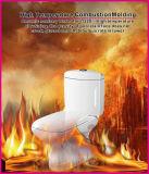 Manija de la porcelana Siphonic lateral Econormic alta calidad de dos piezas WC