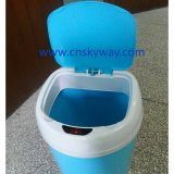 Auto di plastica Sensor Kitchen Waste Dust Bin 10L