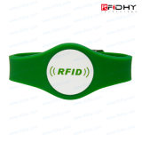 Children in serie Wristbands Debossed RFID Silicone Wristbands per la piscina