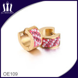 女性のための簡単な金のイヤリングデザイン