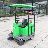 Mini veículo recarregável da limpeza da rua da vassoura de estrada (DQS12/DQS12A)