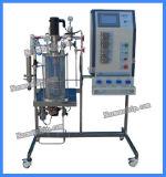 7L de magnetische Bewogen Gister/de Bioreactor van het Glas
