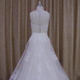 A - ligne train détachable de robe de mariage