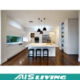 Mobília de madeira do gabinete de cozinha com dissipador (AIS-K005)