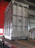 냉각하는 분말, 완전히 용접된 넓은 채널 격판덮개 열교환기