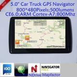 """2016新しい5.0 """"車携帯用GPSの運行装置サポート新しいNavitelのマップおよびIgoの新しいマップ"""