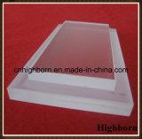 Effacer le fournisseur personnalisé de feuille de glace de quartz d'échelle