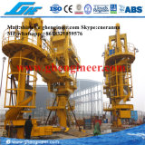 carregador de giro do navio do parafuso 2400bags/H para a planta do cimento