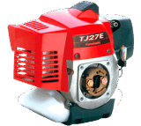 Cepillo Cutter Powered por Kawasaki Engine (TJ27E)