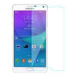 Protetor de vidro da tela de OEM/ODM para a nota 4 de Samsung