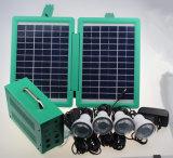 4PCS 1W LEDの軽い太陽照明キットを使って