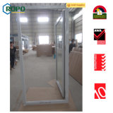 Double ouverture Double vitrage French Casement PVC / UPVC Door