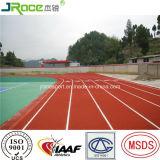 Pistes sportives de polyuréthane élevé d'élasticité de Chine
