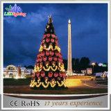 Luz ao ar livre da corda do feriado da decoração da árvore de Natal do diodo emissor de luz de Colorfull