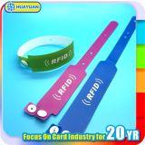 Wristband a gettare di RFID ABS/PVC per l'evento