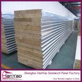 高品質の健全な絶縁体の耐火性の鋼鉄Rockwoolサンドイッチパネル