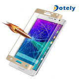 Anti-Empreinte digitale pleine page de couverture pour le protecteur d'écran de bord de note de galaxie de Samsung