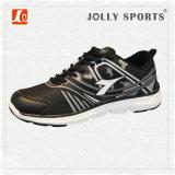 Nuevos deportes de la PU de la calidad del estilo del diseño que funcionan con los zapatos de las mujeres del Mens