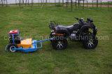 1200 mm Anchura con 16HP arranque eléctrico del motor ATV Acabado Segadora