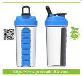 بروتين يلحق بروتين مسحوق رجّاجة زجاجة [700مل]