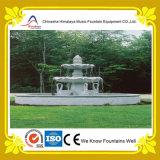 Disegno della fontana di musica dell'acqua del giardino