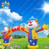 Finego Reklameanzeige-Dekoration-aufblasbarer Torbogen-aufblasbarer Tunnel-aufblasbarer lustiger Clown-Bogen